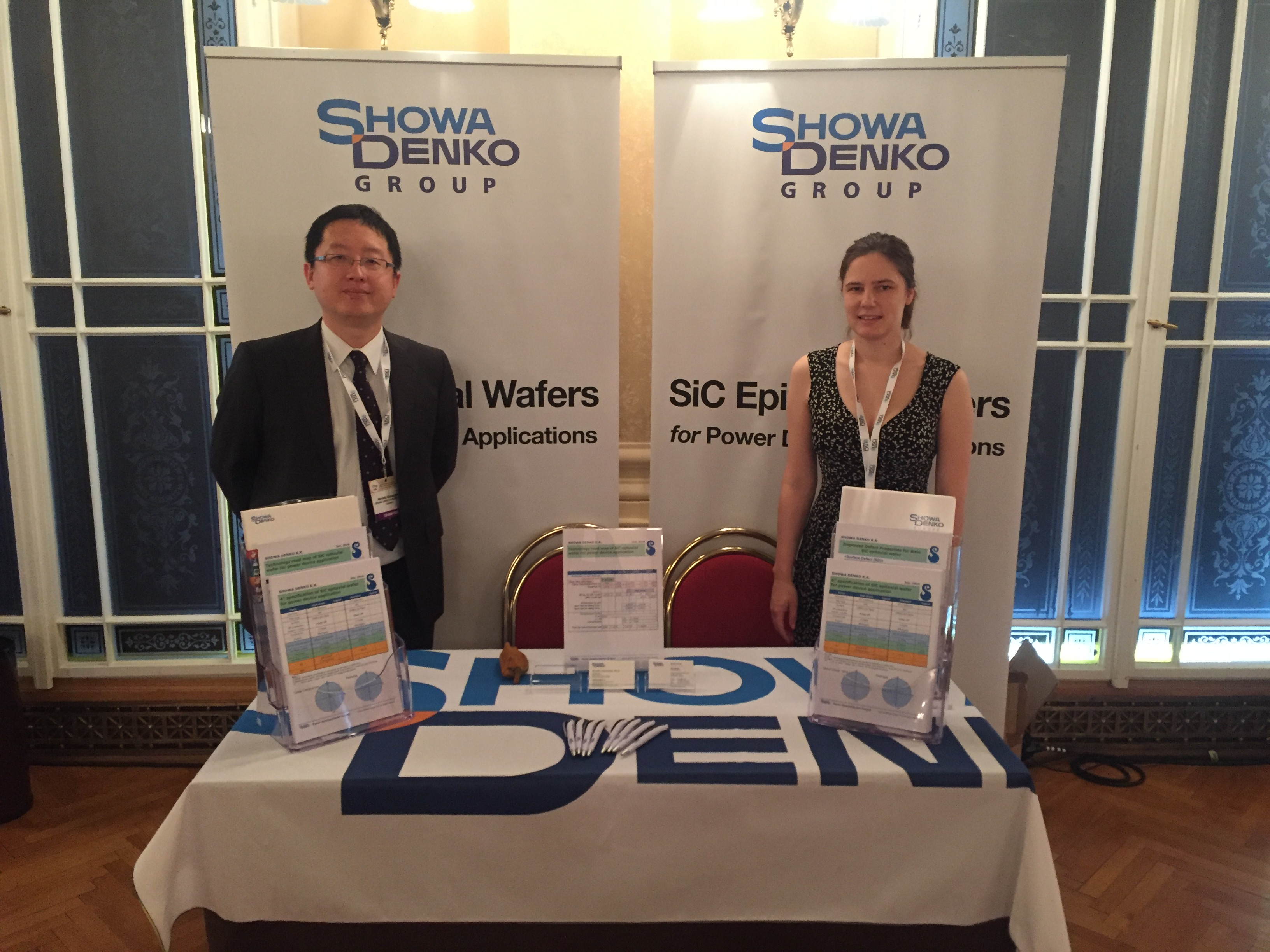 ISPSD booth 2016